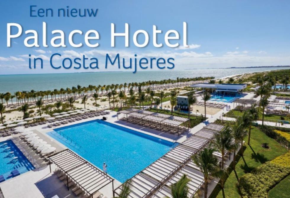 Een nieuw Palace hotel in Costa Mujeres