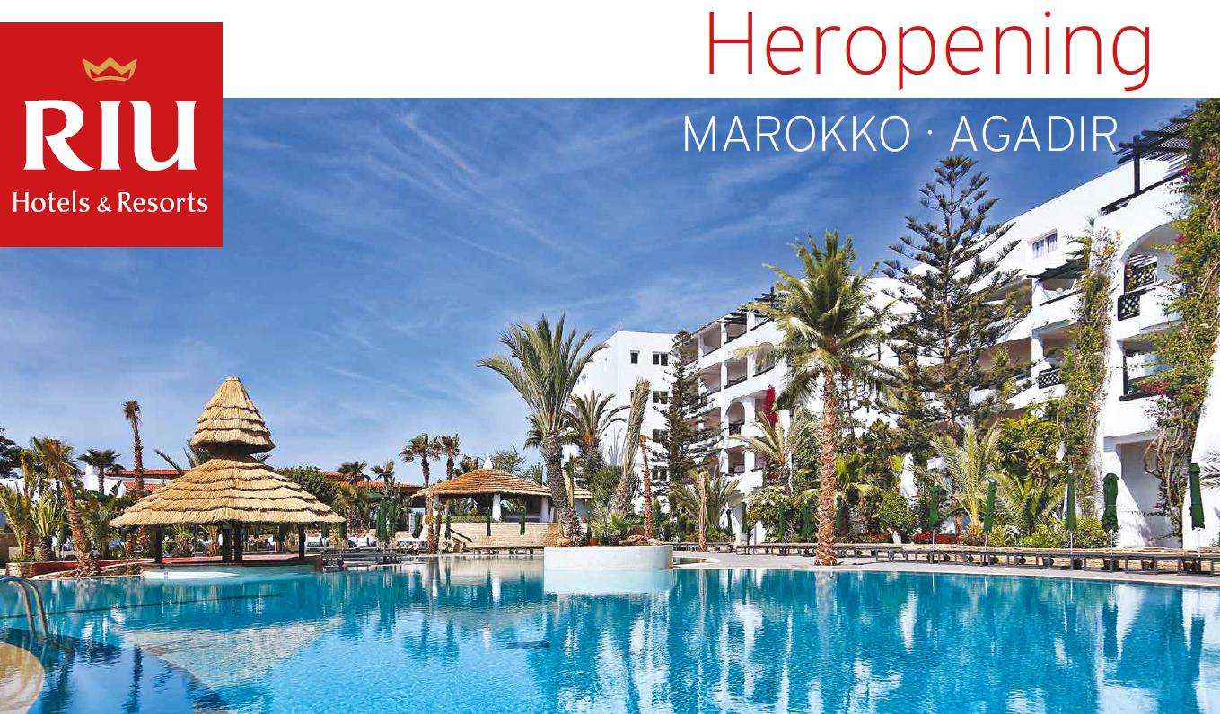 Heropening hotel Tikida beach in Agadir