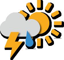 Het weerbericht over heel de wereld