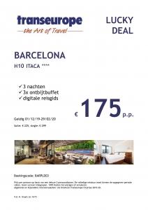 Transeurope Lucky Deal Barcelona